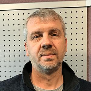 Maciej Woznica - producent radiowy, szef dzialu produkcji