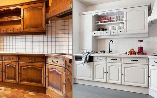 Malowanie starych płytek w kuchni: krok po kroku